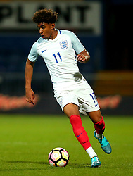Reiss Nelson of England - Mandatory by-line: Robbie Stephenson/JMP - 05/09/2017 - FOOTBALL - One Call Stadium - Mansfield, United Kingdom - England U19 v Germany U19 - International Friendly