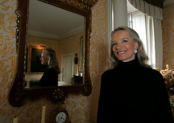 UK ENGLAND LONDON 1FEB05 - Her Royal Highness The Princess Michael of Kent poses for a portrait in her private dining room at the Private Apartments at Kensington Palace, central London. Before marrying Prince Michael in 1978, she was Baroness Marie-Christine von Reibnitz, daughter of Baron von Reibnitz and the former Countess Marianne Szapary of Vienna. The Princess has written two historical books and now lectures internationally at universities, museums and other organisations such as Sotheby's. ..jre/Photo by Jiri Rezac ..© Jiri Rezac 2005..Contact: +44 (0) 7050 110 417.Mobile:  +44 (0) 7801 337 683.Office:  +44 (0) 20 8968 9635..Email:   jiri@jirirezac.com.Web:    www.jirirezac.com..© All images Jiri Rezac 2005 - All rights reserved.