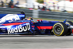 October 21, 2017 - Austin, Texas, U.S - Brendon Hartley of New Zealand (39) in action during the final practice before the Formula 1 United States Grand Prix race at the Circuit of the Americas race track in Austin,Texas. (Credit Image: © Dan Wozniak via ZUMA Wire)