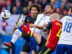 13-06-2016 FRA: UEFA EURO Belgie - Italie, Lyon<br /> België verliest met 2-0 van Italie / Graziano Pelle (Wlochy), Radja Nainggolan (Belgia), Axel Witsel (Belgia)<br /> <br /> ***NETHERLANDS ONLY***