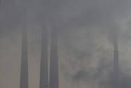 A view of Kolaghat thermal power plant in East Medinipur, India Thursday, Oct. 4, 2012 (Photo/Elizabeth Dalziel for Christian Aid)