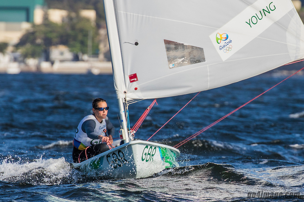 Laser Radial GBR Alison Young GBRAY5<br /> <br /> 2016 Olympic Games <br /> Rio de Janeiro