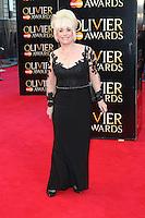 Barbara Windsor, The Laurence Olivier Awards, Royal Opera House, London UK, 13 April 2014, Photo by Richard Goldschmidt