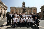 ROMA 10 APRILE 2007<br /> BASKET<br /> CONFERENZA PRESENTAZIONE EUROPEO FEMMINILE ITALIA - USA<br /> NAZIONALE ITALIANA FEMMINILE<br /> NELLA FOTO: NAZIONALE ITALIANA FEMMINILE<br /> FOTO CIAMILLO-CASTORIA
