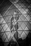 London. UK. Swiss Re Tower architect Norman fioster , in the city financial district of london / la tour Swiss Re par l architecte anglais Norman foster e  , dans le quartier financier de la city