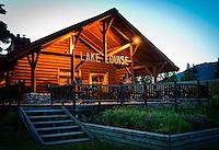 Lake Louise train station., Alberta, Canada, Isobel Springett