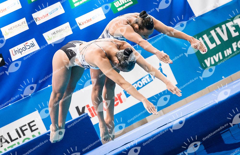3 ALL ROUND SPORT &amp; WELLNESS SSD ARL<br /> Carrozza Noemi <br /> Baldi Raffaella<br /> Duo Eliminatorie<br /> Campionato Nazionale Assoluto Estivo 2017<br /> Bologna (BO) 1-4 Giugno 2017<br /> Day2<br /> Photo D. Montano/Insidefoto/Deepbluemedia.eu