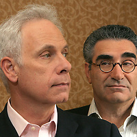 """For Your Consideration"" director Christopher Guest and Eugene Levy are seen at the Ritz Thursday,  November 9, 2006."