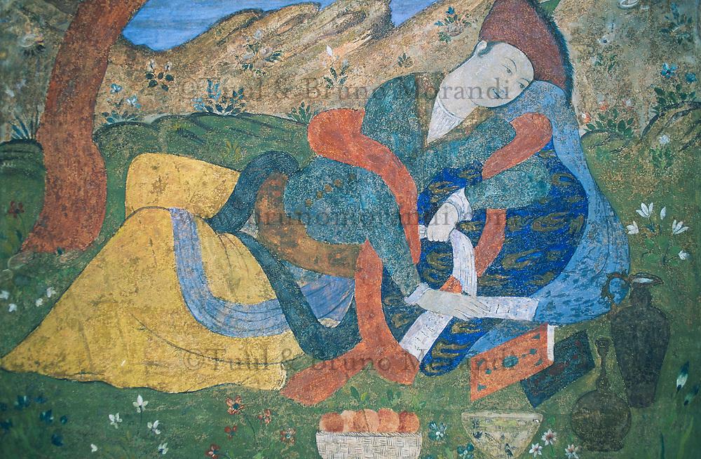 Iran, Ispahan, Palais Ali Qapu // Iran, Esfahan, Ali Qapu palace
