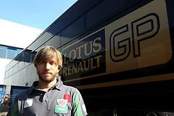 12.02.2011, Street Circuit. Jerez, ESP, Formel 1 Test 2 Valencia 2011,  im Bild Nick Heidfeld (GER) Lotus Renault GP . EXPA Pictures © 2011, PhotoCredit: EXPA/ nph/   poleposition.at  //    **** only for AUT  & SLO ****