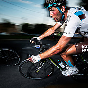 Hugo Houle of AG2R La Mondiale at the Mardis Cycliste in Lachine on July,  9 2013