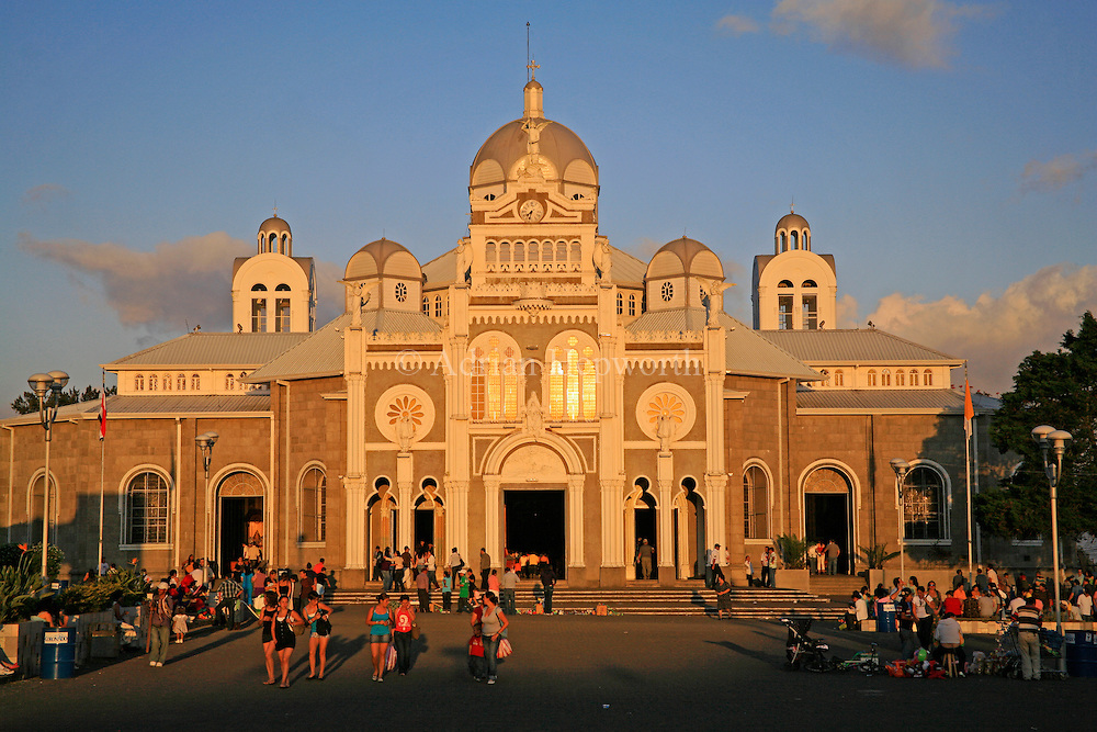 La Basilica church; Cartago, Costa Rica.<br /> <br /> For pricing click on ADD TO CART (above). We accept payments via PayPal.