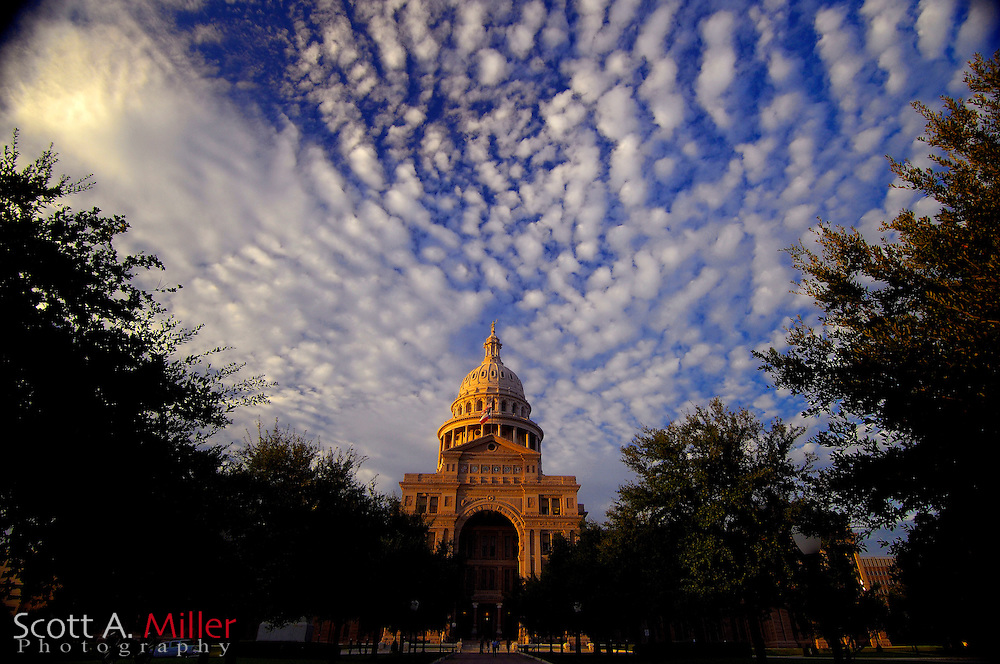 September 5, 2007, Austin; The Texas State Capital in Austin, Texas.....©2007 Scott A. Miller