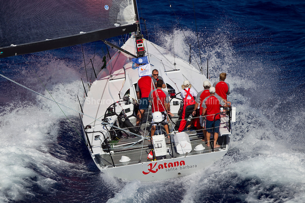 Transpac Finish 2011.Transpac Finish 2011, Katana..Transpac 2011, Katana.