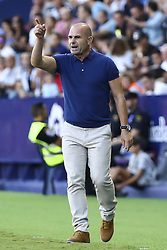 September 30, 2018 - Valencia, Spain - Levante UD manager PACO LOPEZ  during spanish La Liga match between Levante UD vs  Deportivo Alaves at Ciutat de Valencia  Stadium on September 30, 2018. (Credit Image: © Jose Miguel Fernandez/NurPhoto/ZUMA Press)