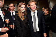 PRINCESS BEATRICE; DAVE CLARK; ; The Tomodachi ( Friends) Charity Dinner hosted by Chef Nobu Matsuhisa in aid of the Unicef  Japanese Tsunami Appeal. Nobu Berkeley St. London. 5 May 2011. <br /> <br />  , -DO NOT ARCHIVE-© Copyright Photograph by Dafydd Jones. 248 Clapham Rd. London SW9 0PZ. Tel 0207 820 0771. www.dafjones.com.