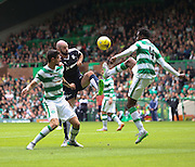 Dundee&rsquo;s Gary Harkins and Celtic&rsquo;s Efe Ambrose  - Celtic v Dundee - Ladbrokes Premiership at Celtic Park<br /> <br /> <br />  - &copy; David Young - www.davidyoungphoto.co.uk - email: davidyoungphoto@gmail.com