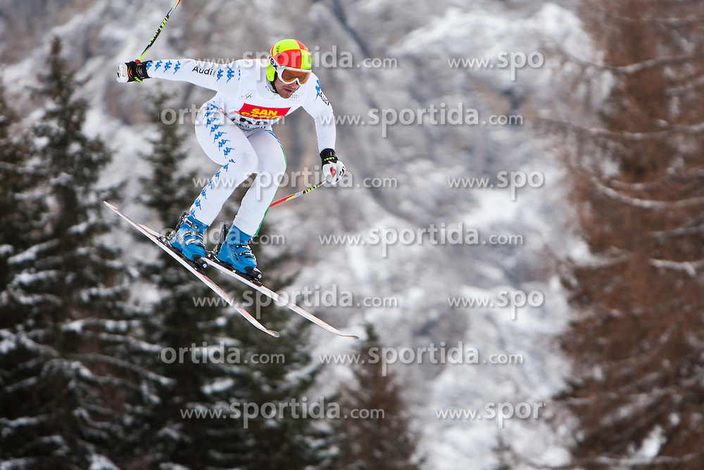 15.12.2011, Saslong, Groeden, ITA, FIS Weltcup Ski Alpin, Herren, 2. Training Abfahrt, im Bild Paolo Pangrazzi (ITA) // Paolo Pangrazzi of Italy during 2th practice session men's downhill at FIS Ski Alpine Worldcup at Saslong in Groeden, Italy on 2011/12/15. EXPA Pictures © 2011, PhotoCredit: EXPA/ Johann Groder