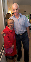 Barbara Mullins, Salthill and Sean Sweeney Galway at the Ability West Best Buddy Ball and award night at the Menlo Park Hotel Galway. Photo:Andrew Downes.