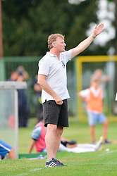 Cifer Franc, head coach of ND Mura during the football match between ND Mura and ND Gorica in 1st Round of Pokal Slovenije 2015/16, at Fazanerija on August 19, 2015 in Murska Sobota, Slovenia. Photo by Mario Horvat / Sportida