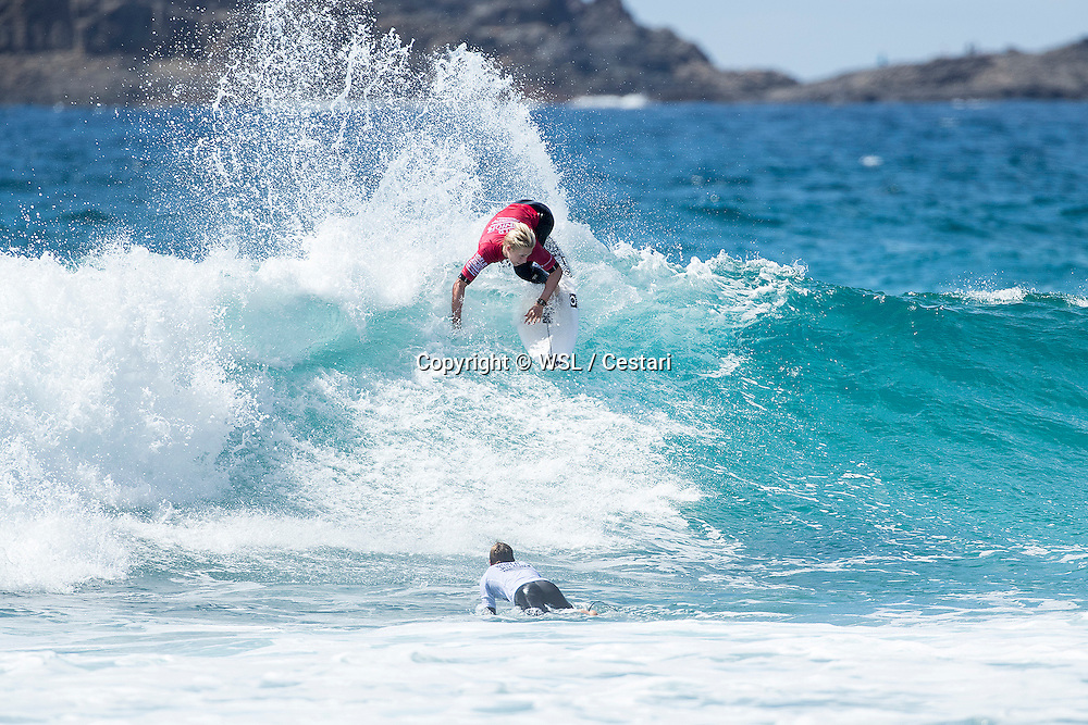 Ethan Ewing of Australia winning Heat 6 of Round 1 at the World Junior Championship.