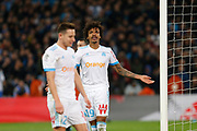 Luis Gustavo of Olympique de Marseille reacts during the French Championship Ligue 1 football match between Olympique de Marseille and Olympique Lyonnais on march 18, 2018 at Orange Velodrome stadium in Marseille, France - Photo Philippe Laurenson / ProSportsImages / DPPI