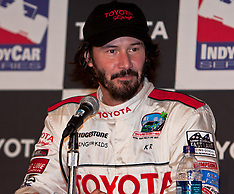 Keanu Reeves Wins Toyota Pro/Celebrity Race 2009.