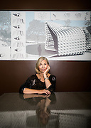 Dana Cuff, director of CityLAB at UCLA, photographed at the CityLAB space in Los Angeles, Calif., on Nov. 4 , 2013.