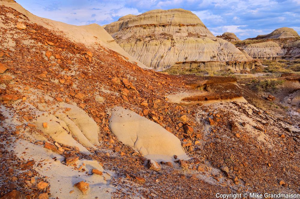 Badlands<br /> Dinosaur Provincial Park<br /> Alberta<br /> Canada