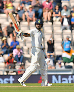 50 for Virat Kohli (captain) of India - Virat Kohli (captain) of India celebrates scoring a half century during the 4th day of the 4th SpecSavers International Test Match 2018 match between England and India at the Ageas Bowl, Southampton, United Kingdom on 2 September 2018.