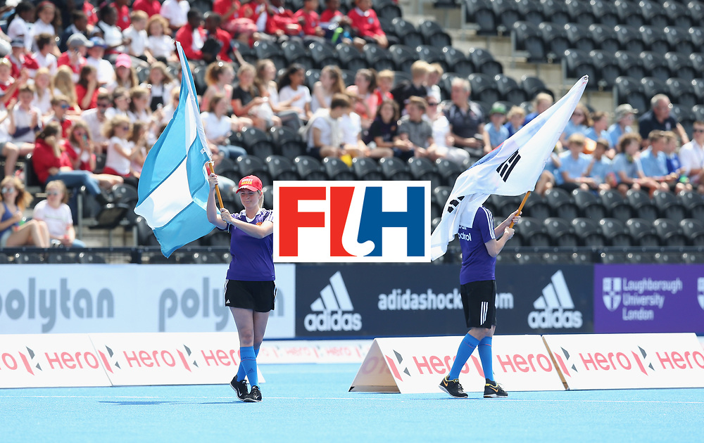 LONDON, ENGLAND - JUNE 15:   during the Hero Hockey World League Semi Final match between Korea and Argentina at Lee Valley Hockey and Tennis Centre on June 15, 2017 in London, England.  (Photo by Alex Morton/Getty Images)