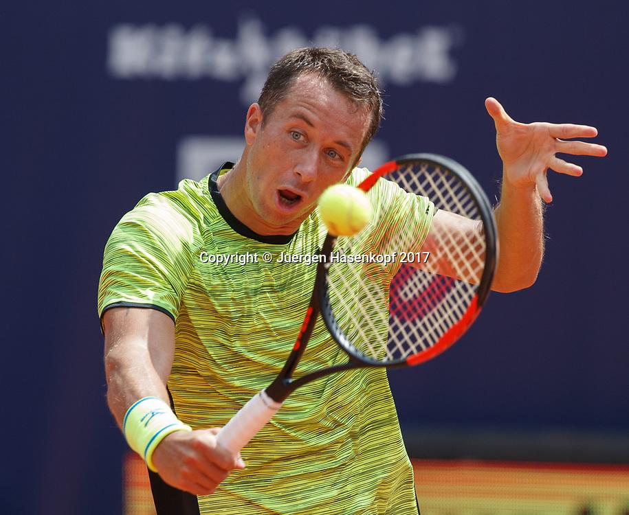 PHILIPP KOHLSCHREIBER (GER)<br /> <br /> Tennis - Generali-Kitzbuehel-Open2017 - ATP 250 -  Kitzbuehler Tennis Club - Kitzbuehel - Tirol - Oesterreich  - 2 August 2017. <br /> &copy; Juergen Hasenkopf