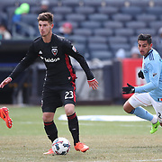 NEW YORK, NEW YORK - March 12:  Ian Harkes #23 of D.C. United in action during the NYCFC Vs D.C. United regular season MLS game at Yankee Stadium on March 12, 2017 in New York City. (Photo by Tim Clayton/Corbis via Getty Images)