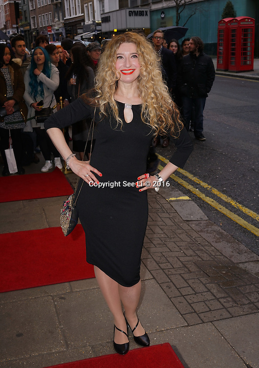 London,England, UK : 25th April 2016 : A host of celebrities attend the Doctor Faustus – Gala Opening Night at the Duke of York's Theatre, St Martin's Lane , London. Photo by See Li