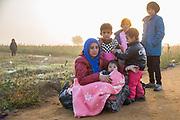 Presevo, Serbia 2015. Refugee crisis at balkan route