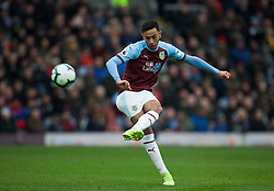 Dwight McNeil of Burnley takes a free kick - Mandatory by-line: Jack Phillips/JMP - 02/03/2019 - FOOTBALL - Turf Moor - Burnley, England - Burnley v Crystal Palace - English Premier League