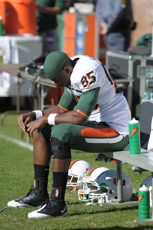 2008 Miami Hurricanes Football @ Virginia