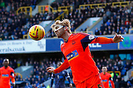 Tim Ream of Bolton Wanderers clears the ball during the Sky Bet Championship match at The Den, London<br /> Picture by David Horn/Focus Images Ltd +44 7545 970036<br /> 15/02/2014