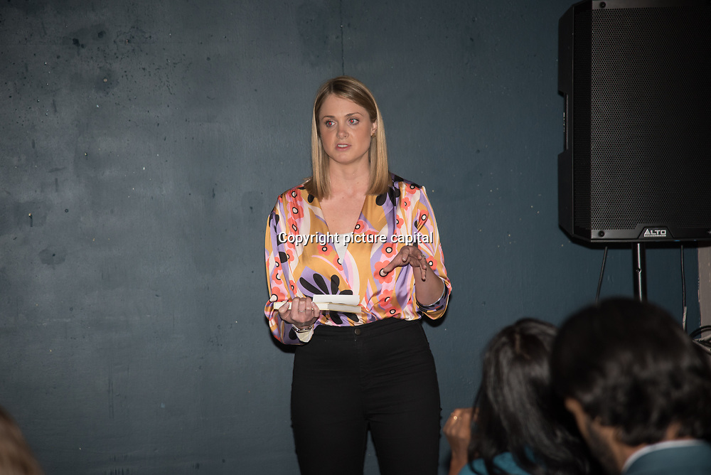 Danni Parks of Whitley Fund for Nature presenter of Seven outstanding efforts to protect some of the world's most endangered animals and their habitat from Pooches, trophy hunting, medicine and food consumption. the goal for Whitley Fund for Nature is to reach the mind of the people and politicians on 26 April 2018 at Library in  London, UK.