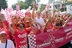 José Fortunati durante caminhada das Vitoriosas - IMAMA. FOTO: Jefferson Bernardes/Preview.com