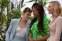 Jury members Kristen Stewart, Ava DuVernay,  Jury President Cate Blanchett,at the Jury photo call at the 71st Cannes Film Festival Tuesday 8th May 2018, Cannes, France. Photo credit: Doreen Kennedy
