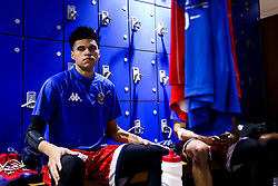 Tevin Falzon of Bristol Flyers in the changing room - Photo mandatory by-line: Robbie Stephenson/JMP - 29/03/2019 - BASKETBALL - English Institute of Sport - Sheffield, England - Sheffield Sharks v Bristol Flyers - British Basketball League Championship
