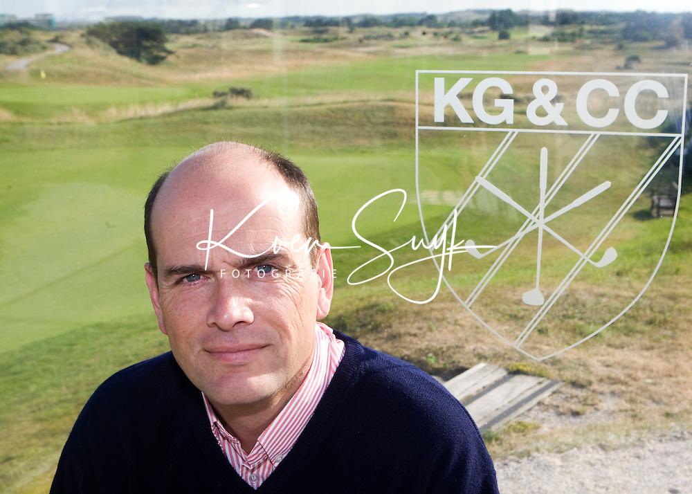 ZANDVOORT - HUGO BOREEL, namens de Kennemer GC in de organisatie van het KLM Open 2008.