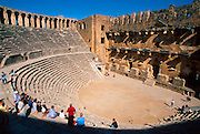 TURKEY, GREEK AND ROMAN Aspendos; best preserved theater 2c.AD