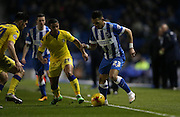 Brighton defender, full back, Liam Rosenior (23) during the Sky Bet Championship match between Brighton and Hove Albion and Leeds United at the American Express Community Stadium, Brighton and Hove, England on 29 February 2016.