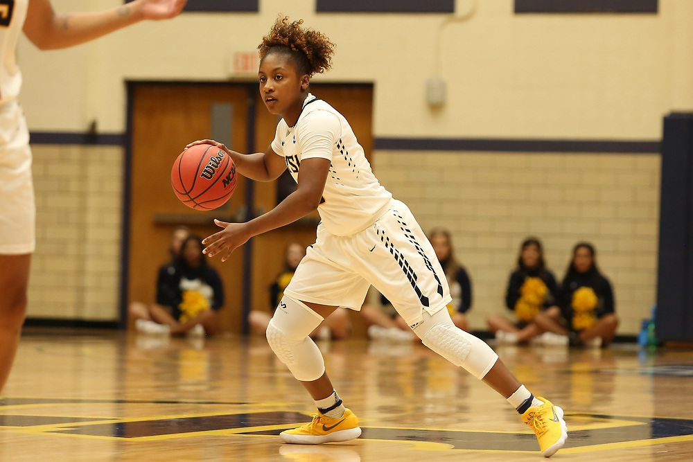 November 10, 2017 - Johnson City, Tennessee - Brooks Gym: ETSU guard Jada Craig (10)<br /> <br /> Image Credit: Dakota Hamilton/ETSU