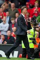 16-08-2014 ENG: Premier League, Manchester United vs Swansea City, Manchester<br /> manager Louis van Gaal <br /> <br /> ***NETHERLANDS ONLY***