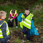 04.04.2017         <br /> St. Brigids National School, Singland Limerick were off the mark early for TLC3. <br /> Darragh Whelan was very busy during the clean up. Picture: Alan Place