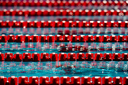 Detailed view of lane ropes during the 13th FINA World Championships Roma 2009, on August 2, 2009, at the Stadio del Nuoto,  in Foro Italico, Rome, Italy. (Photo by Vid Ponikvar / Sportida)