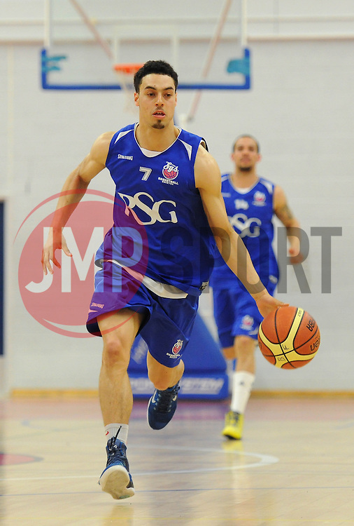 Bristol Flyers Roy Owen - Photo mandatory by-line: Dougie Allward/JMP - Mobile: 07966 386802 - 23/05/2015 - SPORT - Basketball - Bristol - SGS Wise Campus - Bristol Flyers v  - Bristol Flyers All-Star Game